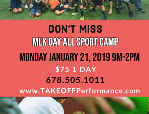 TAKEOFF All Sport MLK Day Camp 9-2pm