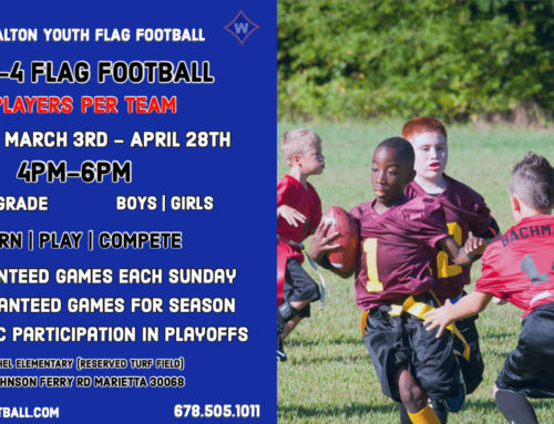 2019 WALTON YOUTH FLAG FOOTBALL SPRING SEASON REGISTRATION