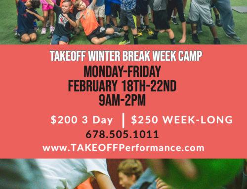 TAKEOFF Winter Break Week Camp