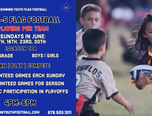 TAKEOFF Summer Youth Flag Football