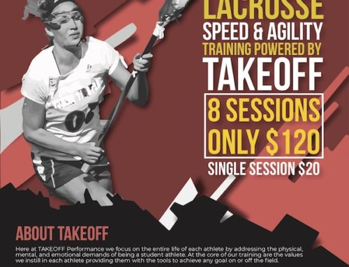 Join Roswell Youth Lacrosse Speed and Agility Winter Program Powered by TAKEOFF Performance